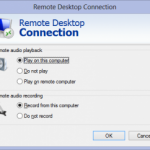 Lync 2010 and Audio in RDP Sessions